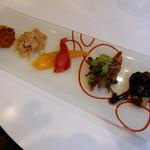 イタリア食堂 Fagotto - 前菜5種(土日祭日ランチメニューCセット)