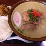 南風 - 料理写真:ソーキそば(こってり)/\750
