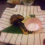 設楽 - 焼き松茸