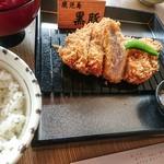とんかつKYK - 鹿児島県産黒豚ロースとんかつ膳 110g 1,700円