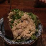 鳥星 恵比寿バール - 自家燻製鶏ハムのポテトサラダ  500円