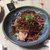 照 - 料理写真:地鶏のタタキ