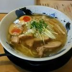 彩色ラーメン きんせい総本家 夢風 - 薫製鶏塩ラーメン(950円)