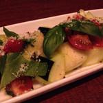 55314320 - 生水茄子とトマトのサラダ仕立て