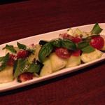 55314322 - 生水茄子とトマトのサラダ仕立て