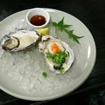 55315624 - 厳島定食(ハーフ)の生牡蠣