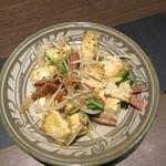 畑家 ぶぶか - 豆腐チャンプルー