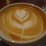 トップシークレットカフェ - カフェラテ サービスしてもらいました。