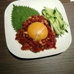 赤身焼肉 寿香苑 あかつき - ユッケ