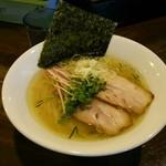 あす流 - 塩ラーメン(750円)
