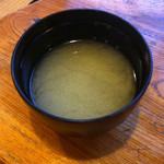 三春寿司 - 味噌汁