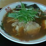 山手餃子 - 醤油ラーメン