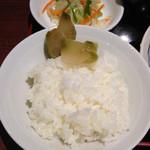 Chinese Dining ナンテンユー - ザーサイは確かに美味かったです