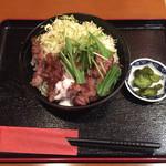 牛カツ東京 - ステーキ丼 並盛(1250円)【平成28年5月2日撮影】