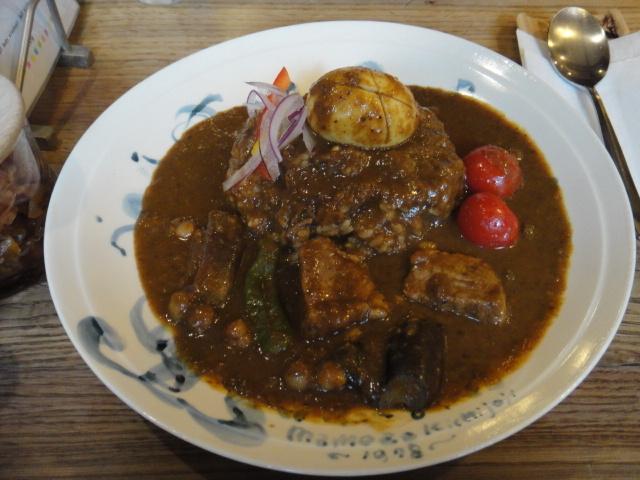 まめ蔵 - スペシャル(ポーク・野菜・豆・ゆで卵)