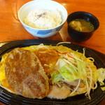 キャンドル - 料理写真:お値打鉄板焼+和食セット
