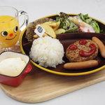 yebisu gogo cafe - お子様用プレートもございます!