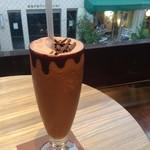 リンツ ショコラ カフェ - アイスチョコレートドリンク♡
