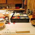 石和川 - 松花堂弁当 2,000円