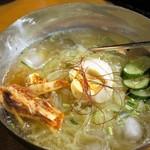 ホルモン・ジンギスカン たたら - 北海道冷麺 780円