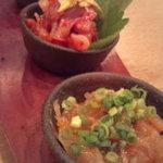 漁師村 蒲田店 - 珍味三種盛り