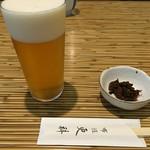 55330810 - 【2016.8月追加】生ビール(650円)とお通し