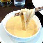55332782 - エビつけ麺【ソース&麺】