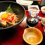 ○や - 紅白丼定食