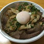 伝説のすた丼屋 - 料理写真:Wローストビーフ丼
