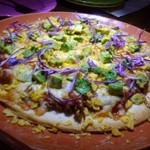 LUCHA - ◆タコス風ピザのような感じで、美味しい。