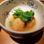 茶茶花 - れんこんまんじゅうの生姜あんかけ(842円)