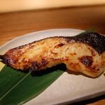 茶茶花 - 銀鱈の西京焼き(1296円)