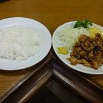 カレーヤ食堂 - 合計で670円(税込)