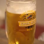 大衆酒場 手作りギョウザ やっさん - 生ビール