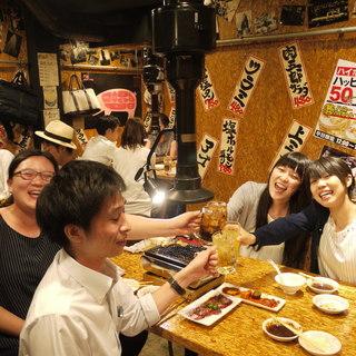 【テーブル席もご用意】★飲み放題付の宴会コース3,000円★