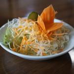 ガンダーラ - カレーセットのサラダ