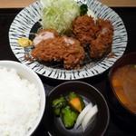双葉 - 千葉県産もち豚ひれ一口かつ定食