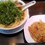 来来亭 - チャーハン定食(葱ラーメンに変更) 1144円(907円+237円)