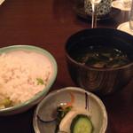 芝桜 - お食事