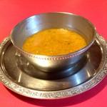 55338864 - レンズ豆のスープ