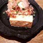 55338926 - 島豆腐の厚揚げ