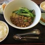 55340116 - 成都担担麺セット
