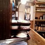 三亀勢 - カウンター席の様子