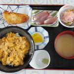 仏ヶ浦ドライブイン - うに丼 税込¥1500