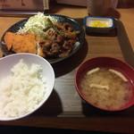 ニュー浅草 - 本日のおすすめ定食 2016.5
