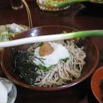 そば処こめや - 料理写真:ねぎ蕎麦
