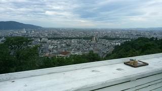 足羽山デッキ - 最上階(屋上)からの眺めです。