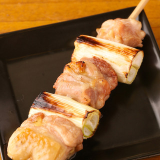 博多地鶏ねぎま280円