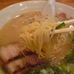 薩摩っ子ラーメン - ☆もっちりした麺もちゅるっと頂けました(*^。^*)☆