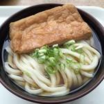 うどん処しんせい - キツネうどん(大) 麺はそのままで~